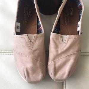 Toms Tan shoes